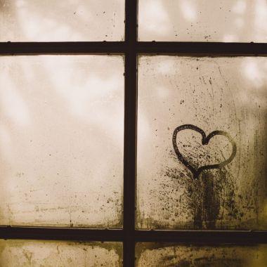 sociale huisvesting foto raam met een hart
