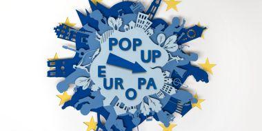 Pop up Europa campagnebeeld