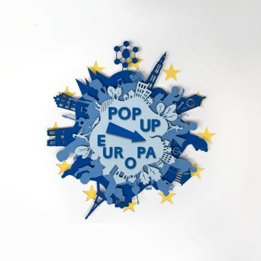 Pop up Europa campagnebeeld