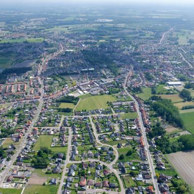 Luchtfoto kern Arendonk