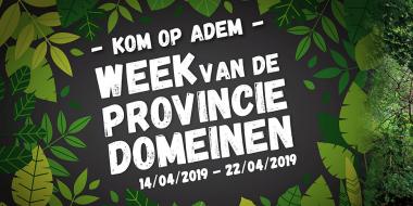 Week van de provinciedomeinen 2019